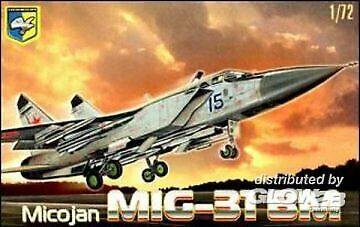 "Neu Kondor 7204-1//72 MiG-31 BM /""Foxhound/"" Soviet interceptor"