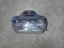 polaris trail boss 87 88 headlight assembly head lamp lens 4x4 cyclone 250 1987