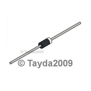5 x on Semiconductor 400 V Diodo 3 A standard 1N5404RL