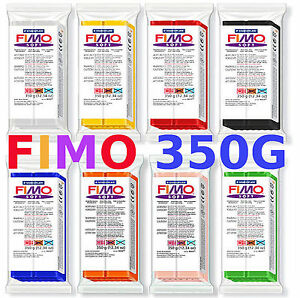 FIMO-SOFT-amp-CLASSIC-350g-POLYMER-MODELLING-MOULDING-OVEN-BAKE-CLAY-BIG-BLOCKS