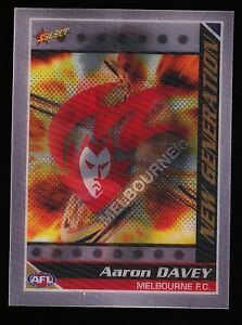 2006 Select New Generation Aaron Davey Melbourne Demons card  NG10