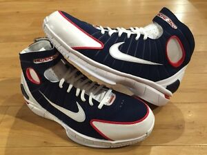 Nike Huarache 2k4 Olympic USA Kobe Mamba FTB Uptempo Foamposite  Jordan  SZ8-13