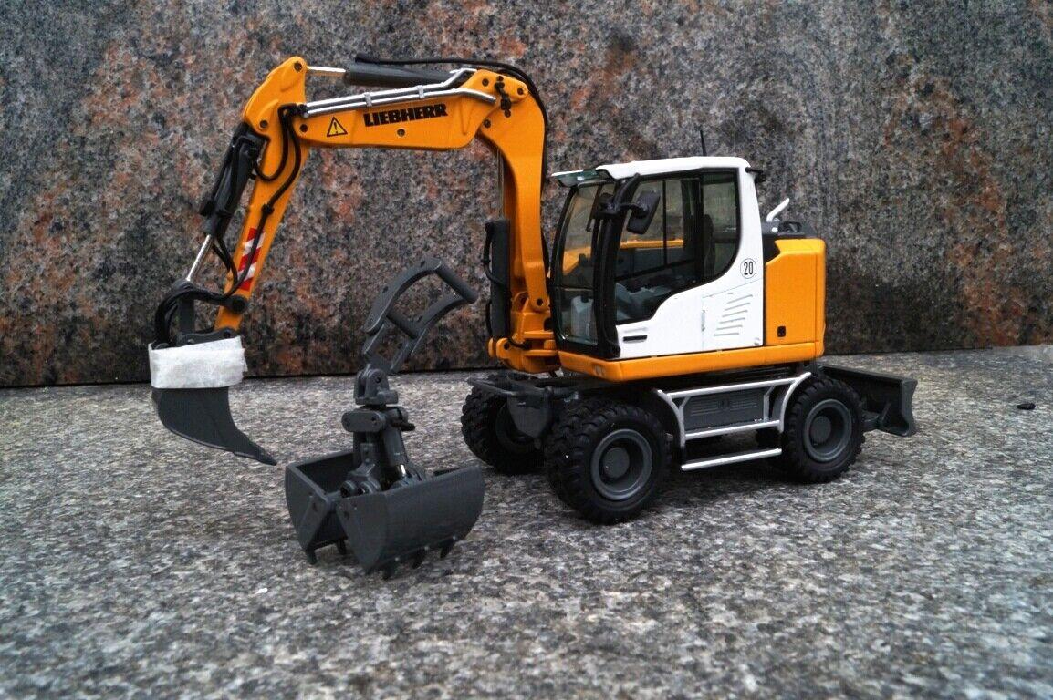 NZG LIEBHERR A 910 Compakt Excavateurs avec fossé cuillères et pince Bauma 2019 nouveau