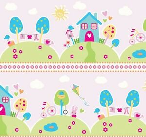 Image Is Loading Riley Blake Sweet Home Fabric C3730 Pink Baby