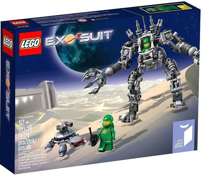 LEGO Ideas Exo Suit Set  21109