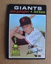 1971 Topps Alan Gallagher #224 Baseball Card