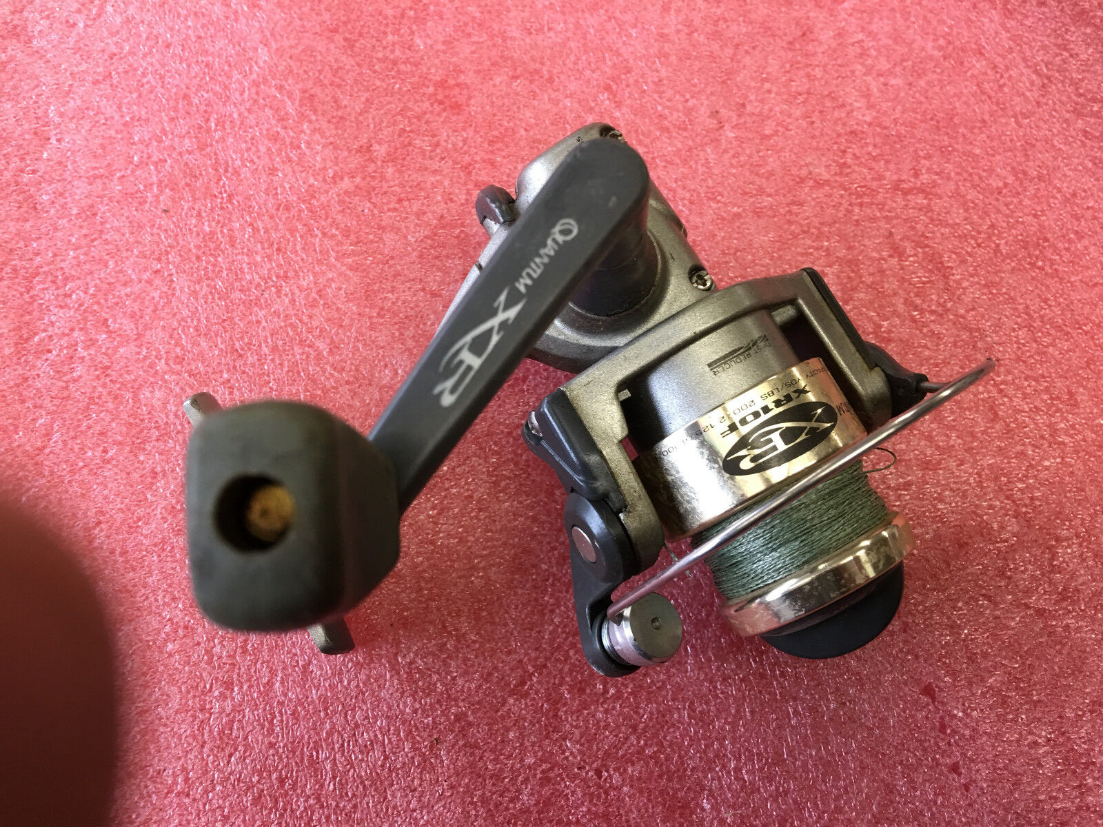 Bs7 Quantum XR20F Spin  Fishing Reel NICE spinning  for sale online