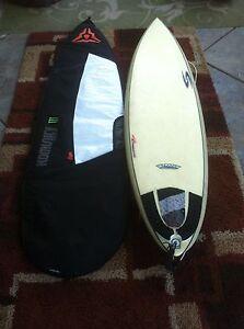 Surfboard Type Longboard 70 X21 X2 5 8 Black Grey And White