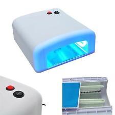 New Pro 36W Nail UV Lamp Acrylic Gel Curing Light Timer Dryer SPA Watt White Hot