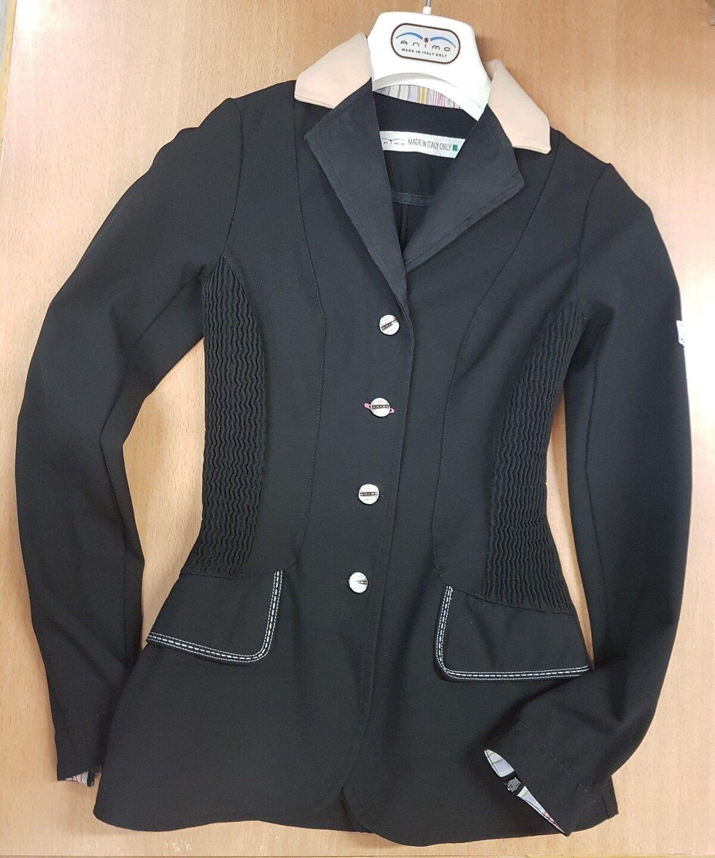 Animo turnierjacket GR 30 30 30 (it. 36) chaqueta, chaqueta, torneo, showjacket, negro  100% garantía genuina de contador