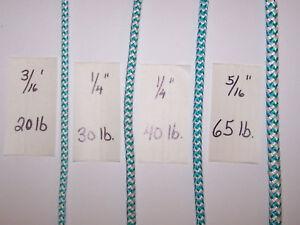 40/' Feet Braided Lead Core Rope Leaded Line Fishing Gill Net  40 lb