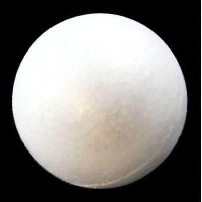 POLYSTYRENE SOLID MODELLING STYROFOAM BALLS CRAFTS SPHERES ROUND 20mm - 200mm