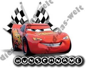 TOP-Disney-Cars-Buegelbild-NEU-15-x-12-cm-gross-Wunschname