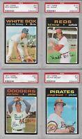1971 Topps Baseball Rich McKinney #37 Graded PSA 7
