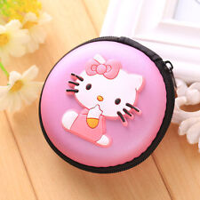 HELLO KITTY EARPHONE CASE PURSE COIN HOLDER HEARING AID UK SELLER!!