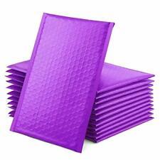 Purple Poly Bubble Mailers Self Seal Padded Envelopes Bulk Bubble Lined 50 Pcs