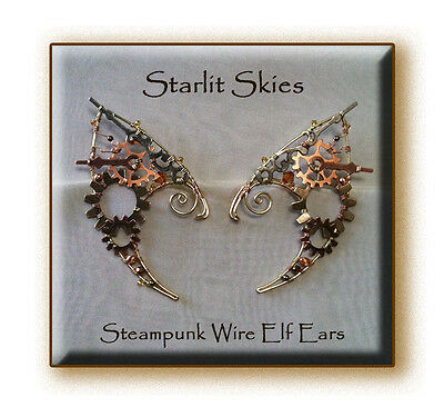 Ravenclaw Inspired Streamer Elf Ears Copper Wire