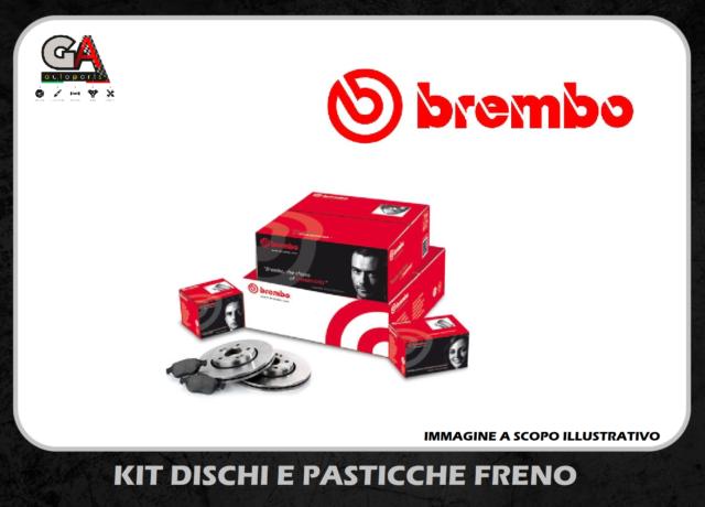 Set ORIGINALE BREMBO PASTIGLIE DEI FRENI PASTIGLIE FRENI POSTERIORE VW TIGUAN 5n 1.4 2.0 dal 07