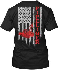 American-Pipeliner-Flag-Hanes-Tagless-Tee-T-Shirt