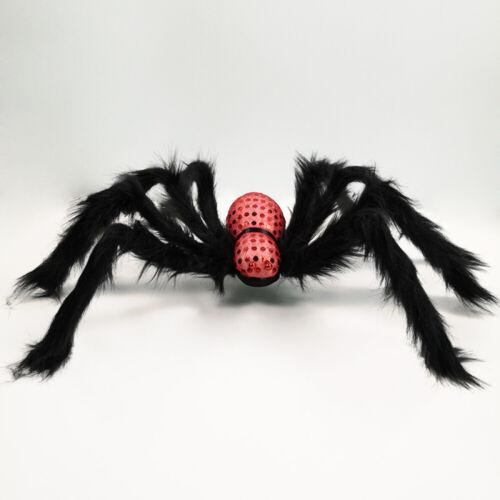 Große Spinnenrequisiten Toy Simulation Plush Spider Halloween Thriller Spielzeug