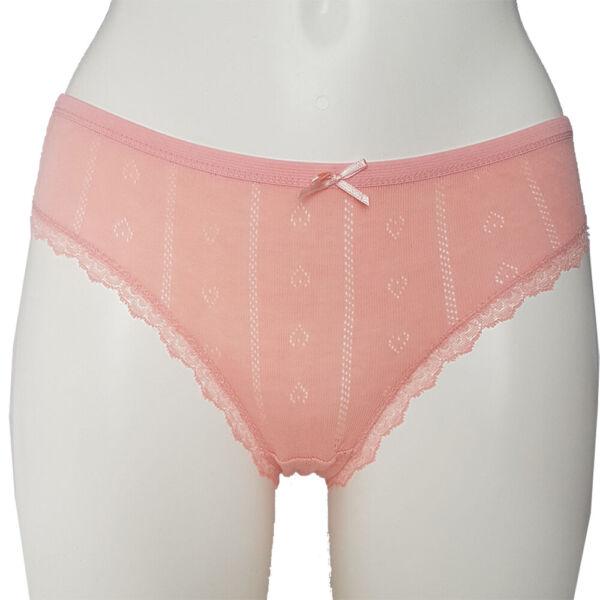 4 Stück Damen Unterwäsche Slip Schlüpfer Pants Unterhosen mit Spitze