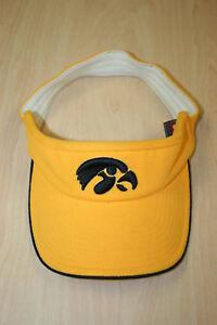 0b92f7981 Details about University of Iowa Hawkeyes Nike Yellow Flex Fit Visor  Baseball Golf Cap Hat