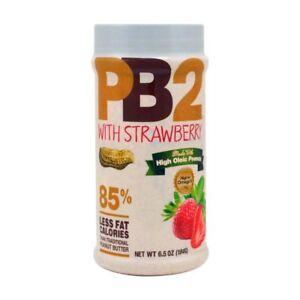 Bell Plantation, PB2, Powdered Peanut Butter Strawberry 184 g Gluten Free
