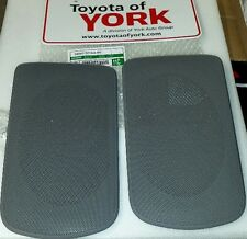 2002-2006 OEM TOYOTA CAMRY REAR SPEAKER GRILLE COVERS GRAY 04007-521AA-B0