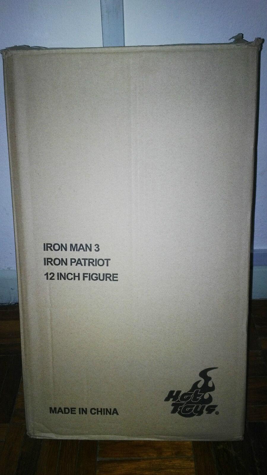 Hot Toys Iron Iron Iron Man 3 III Patriot Diecast Figure 1/6 New Mint in Box MMS195D01 9f2942