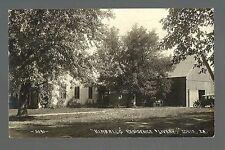 Ionia IOWA RP 1913 LIVERY STABLE Car Rental nr Charles City Nashua New Hampton