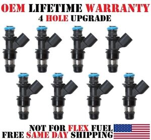 4 HOLE UPGRADE 8x Fuel Injectors DELPHI OEM for CHEVY GMC 4.8 5.3 6.0 6.2L