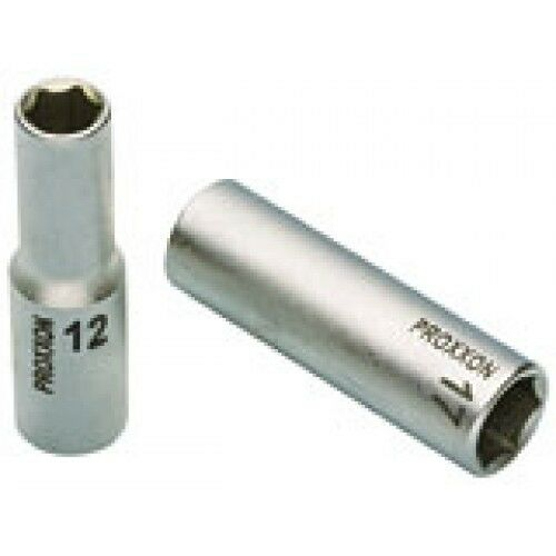 "17 mm 23362 PROXXON Chiave a bussola lunga da 1//2/"" Dimensioni"