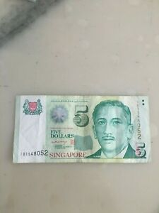 S-039-pore-Portrait-Paper-Replacement-Note-1BT-548052-Circulated-LHL