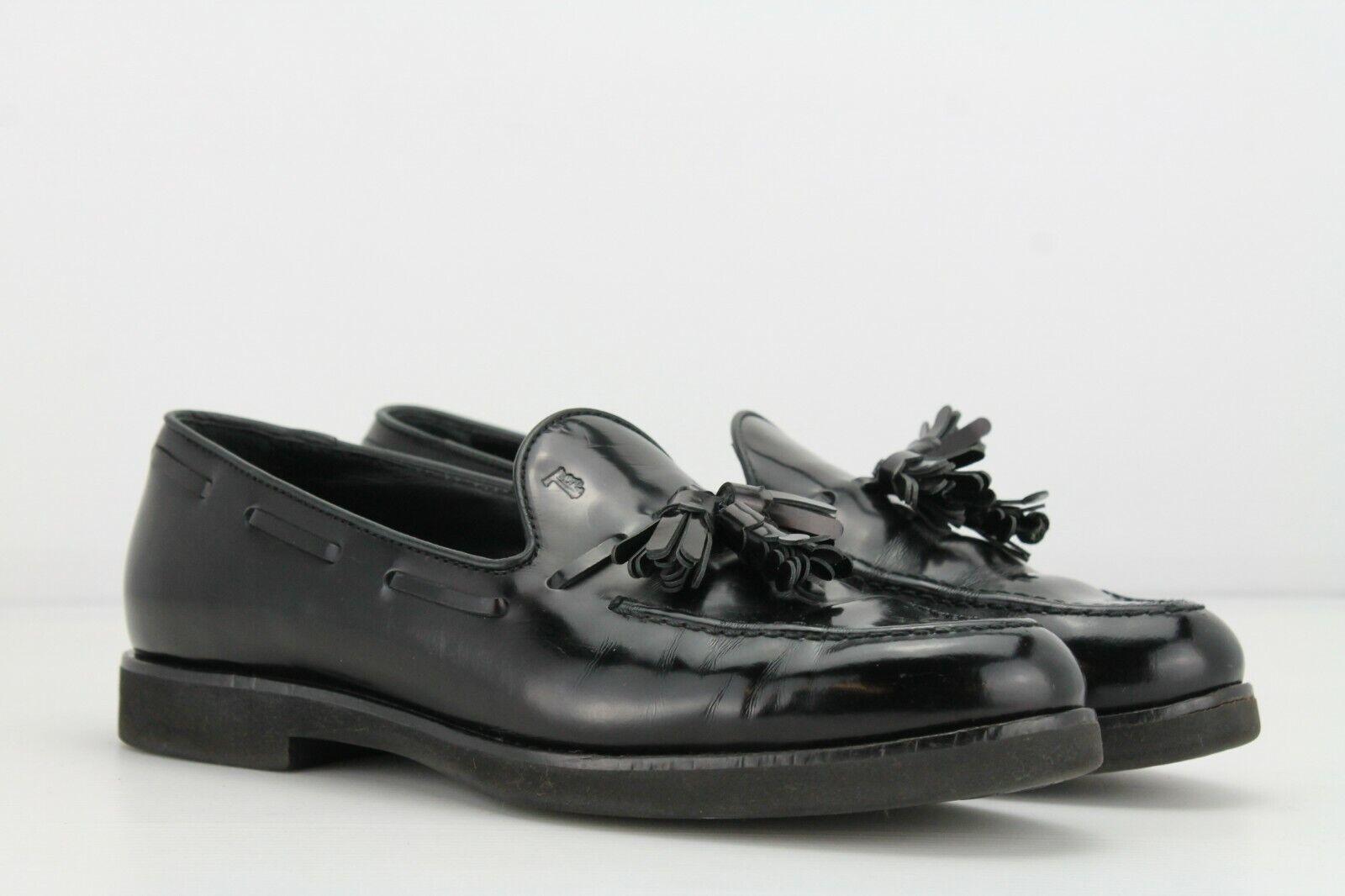 Tod's Negro Calado, Tamaño  UK4.5 EUR37.5