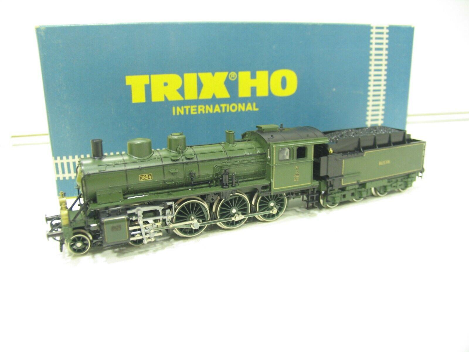 Trix 2408 máquina de vapor p 3 6 verde de la K  Bay. STS. B. nh2981