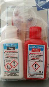 R&g 100 G 5min Epoxy 50 G Zinguée 50 G époxyde Plus Dur Epoxy Colle-afficher Le Titre D'origine Prix ModéRé