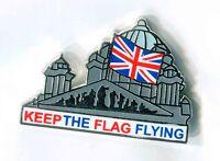 keep the flag flying union jack Enamel badge loyalist ulster scots orange order