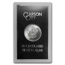 1884-CC Morgan Silver Dollar Coin - Brilliant Uncirculated - GSA Holder