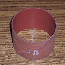 "Intercooler hose (red) for Detroit Diesel engine 3"" dia. and 2 3/4"" LONG"