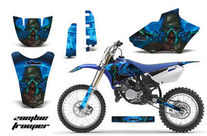 Dirt Bike Decal Graphics Kit MX Sticker Wrap For Yamaha YZ85 2002-2014 ZOMBIE U
