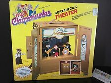 Vtg 1984 Ideal Alvin & The Chipmunks Curtain Call Theater Stage Playset & Box