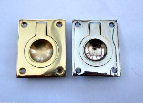 CABINET CUPBOARD DRAWER DOOR RECESSED FLUSH PULL HANDLES