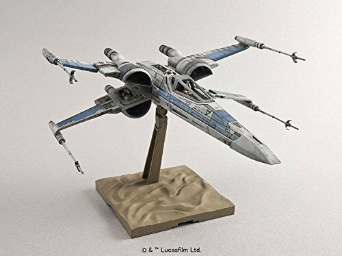 Brand New Bandai Star Wars X Wing Fighter 1//72 Scale Plastic Model
