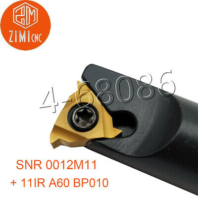 "1x 11 IR A60 11IR A60 11 IR  A60 1//4 /"" Carbide Insert For Threading Turning Tool"