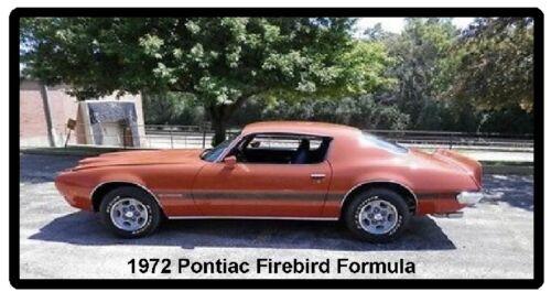 Tool Box  Magnet 1972 Pontiac Firebird Formula Refrigerator
