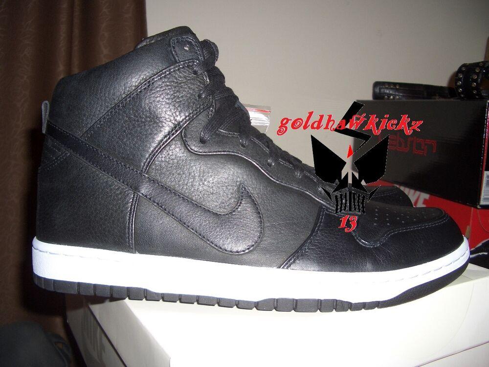 NIKELAB Nike Dunk Lux SP leather noir 718790-001 Lunarlon QS limited