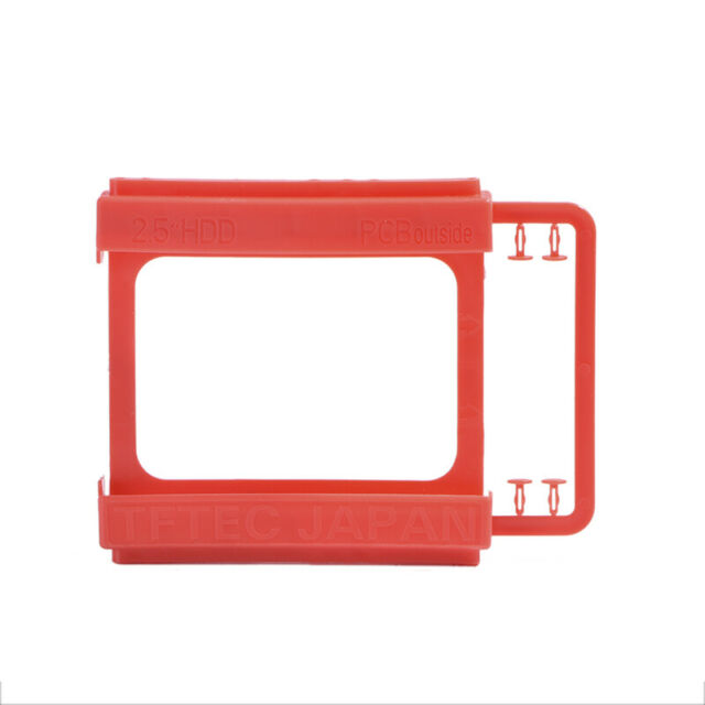 2.5 to3.5inch SSD to HDD Screw-less Mounting Adapters Brackets Hard Drive Hol CJ