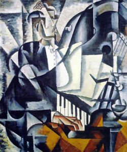 The-Pianist-by-Lyubov-Popova-Handmade-Modern-Abstract-Oil-Painting-Reproduction
