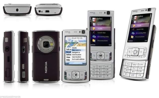 unlocked N95 Silver - Smartphone Nokia