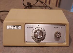 Vintage Pioneer Cable TV Converter Box Model  BC-2002 A UNTESTED